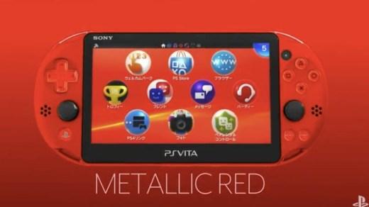 PS Vita Metallic Red