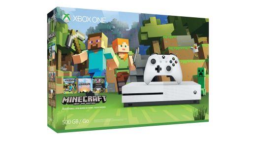La magnifique boîte du Bundle Minecraft Xbox One