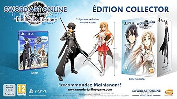 Sword Art Online : Hollow Realization - édition collector en précommande !