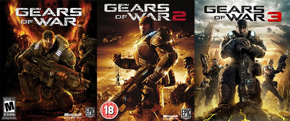 La saga Gears of War