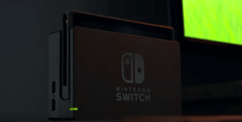 Photo du dock de la Nintendo Switch