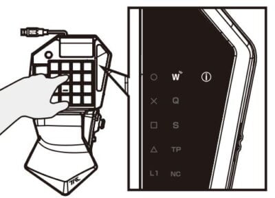 La réorganisation des touches est simple et assistée par un visuel.