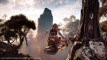 Horizon Zero Dawn sur PS4 Pro