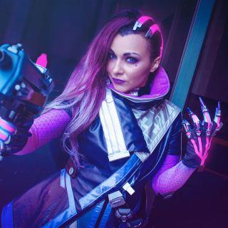 Ce cosplay (officiel !) de Sombra est plutôt réussi !