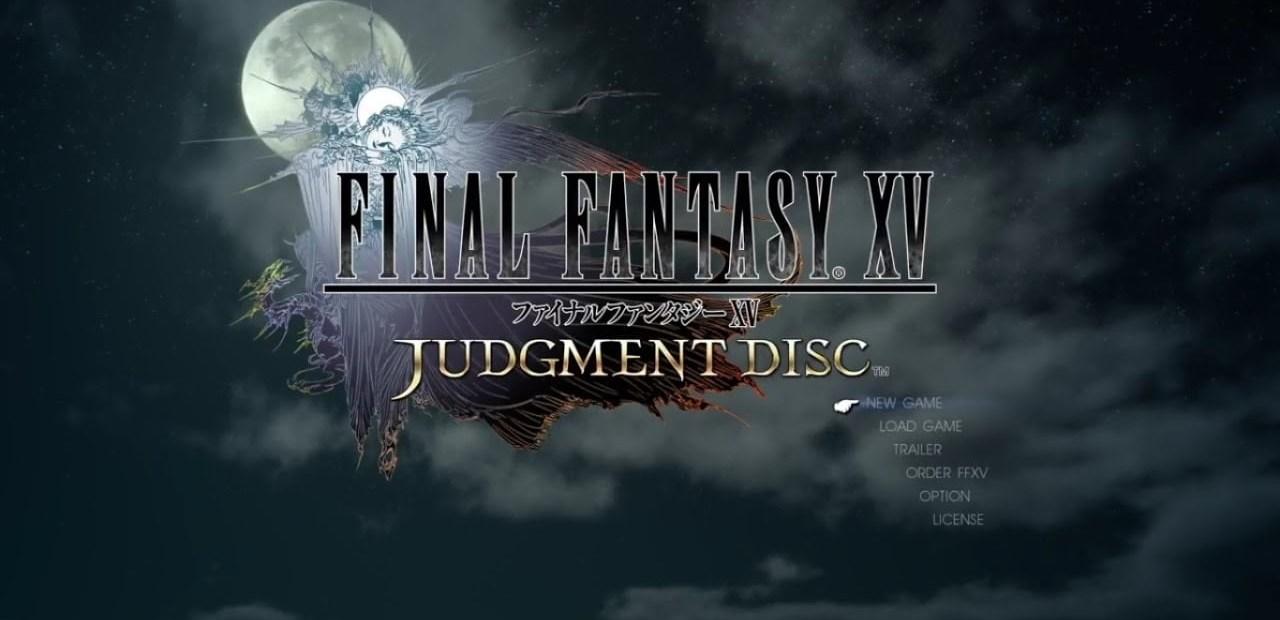 Final Fantasy XV Judgment Disc