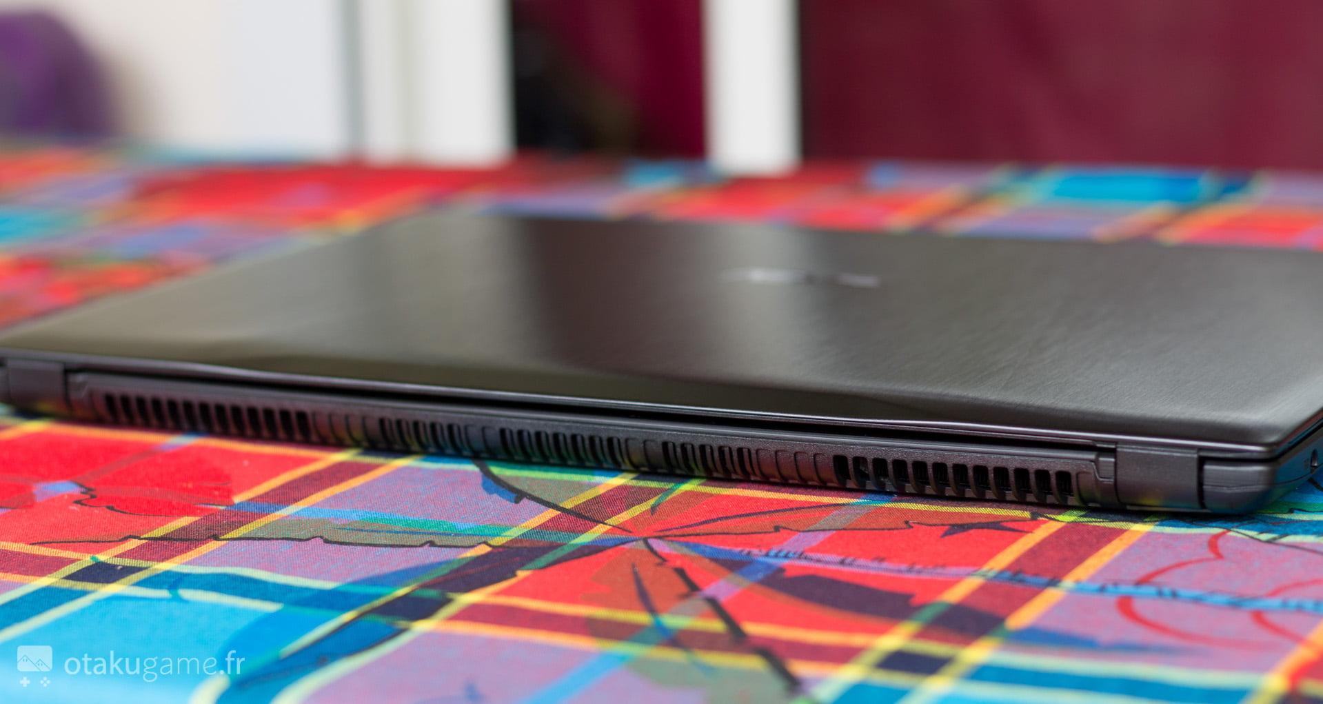 L'ASUS FX502VM est tellement fin qu'on dirait pas un portable gamer !