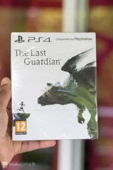 Le jeu de l'édition collector de The Last Guardian