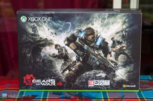 Boîte de la Xbox One S Collector Gears 4
