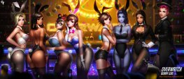 Sexy Overwatch : Bunny girls