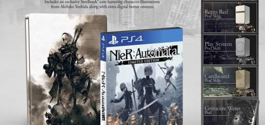 Nier Automata dans son édition limitée.