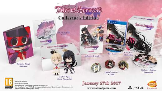L'édition collector de Tales of Berseria