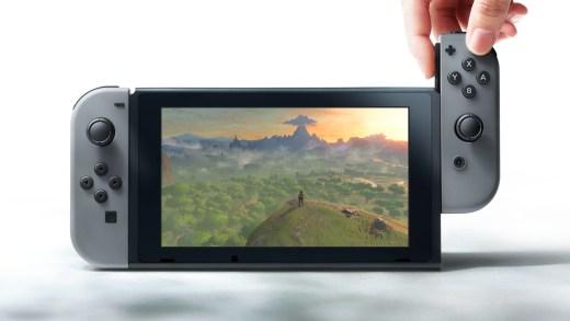 La Nintendo Switch a enfin été dévoilée par Nintendo :) !