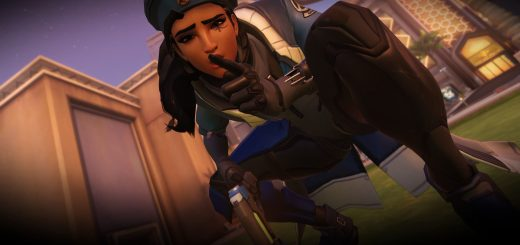 Ana Legendary skin 2017 wallpaper