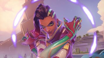 Sombra 2017 Christmas skin wallpaper