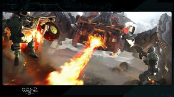 Halo Wars 2 Blitz Scarab Art