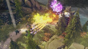 Halo Wars 2 Campaign One Three Zero Purple Fireball