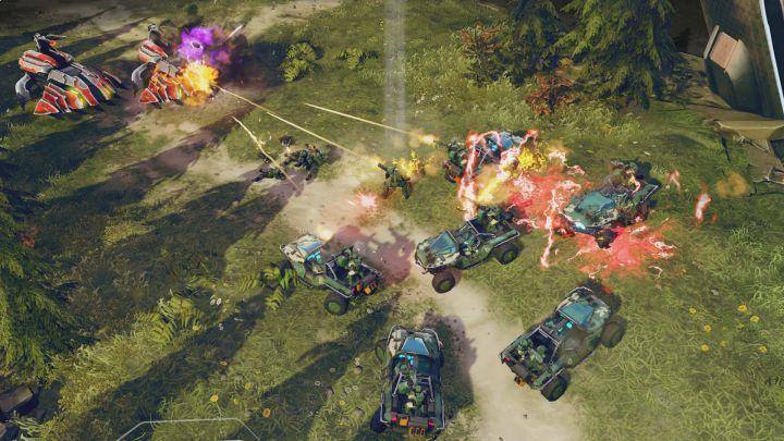 Une petite armée de Warthog, ça vous dit ?