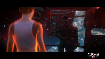 Halo Wars 2 Cinematic Still Cutter and Isabel