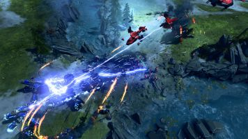 Halo Wars 2 MP Rift Clash at the River