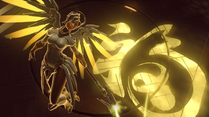 C'est bien connu : C'est facile de jouer Mercy (Ange), on laisse ça aux plus faibles...