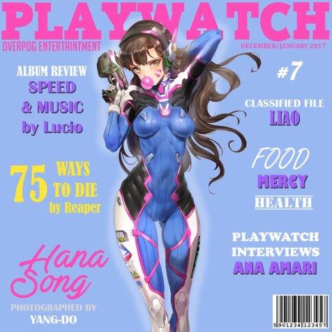 Playwatch featuring D.Va (Hana Song)