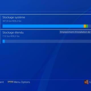 On peut utiliser un disque dur externe pour installer ses jeux PS4 !