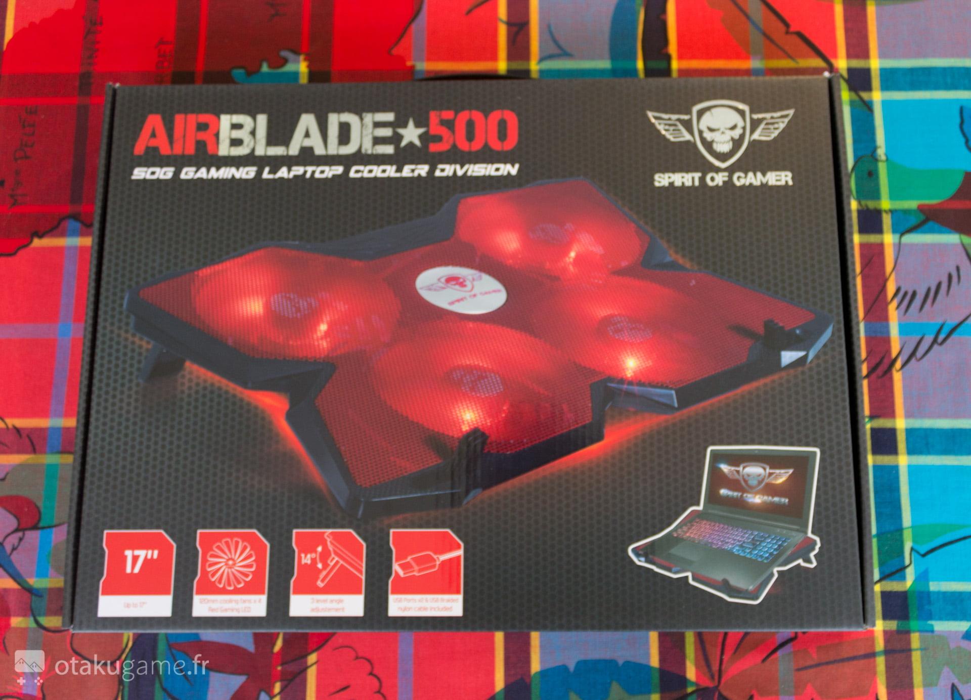 Et voici... Le AirBlade 500 ! Stylé non ?