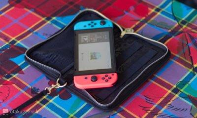 On pourra sans crainte transporter sa Switch avec cette pochette !
