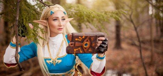 Elle a même fait une tablette Sheikah !