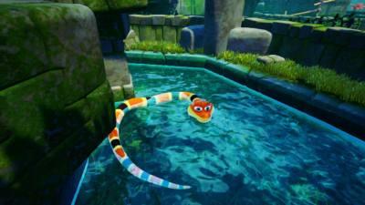 Par contre, j'adore nager avec Noodle ^^ !