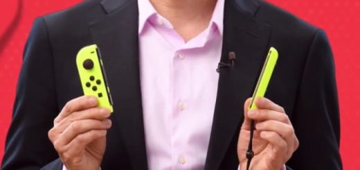 Joycon Jaune Neon Switch