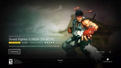 Bêta Street Fighter V
