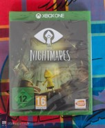 Jaquette Xbox One Little Nightmares