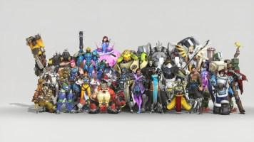 Tous les personnages de Overwatch