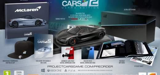 """L'édition """"ULTRA"""" de Project Cars II sera fournie pour le coup !"""