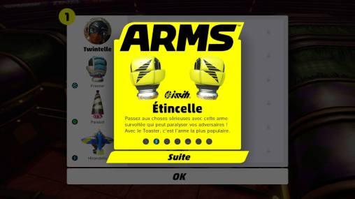 ARMS sur Nintendo Switch