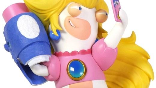La figurine Lapin crétin Peach
