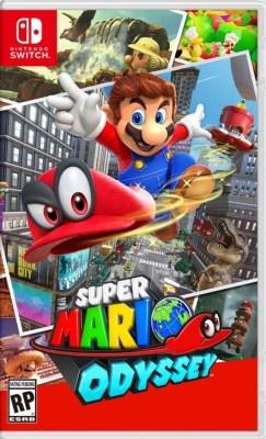 Jaquette de Super Mario Odyssey