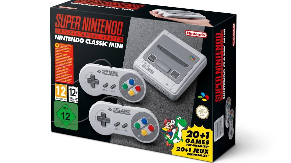 La SUPER NES Mini est bien dans la continuité de la NES Mini !