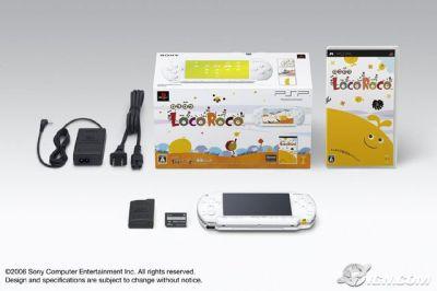 Le fameux bundle LocoRoco PSP :) !