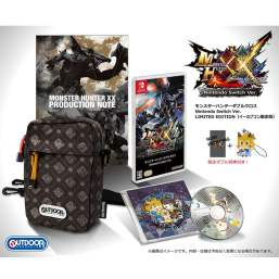 Monster Hunter XX Switch édition collector