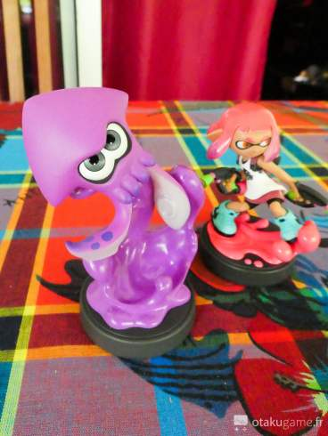 Amiibos Splatoon 2 (Panasonic TZ80)