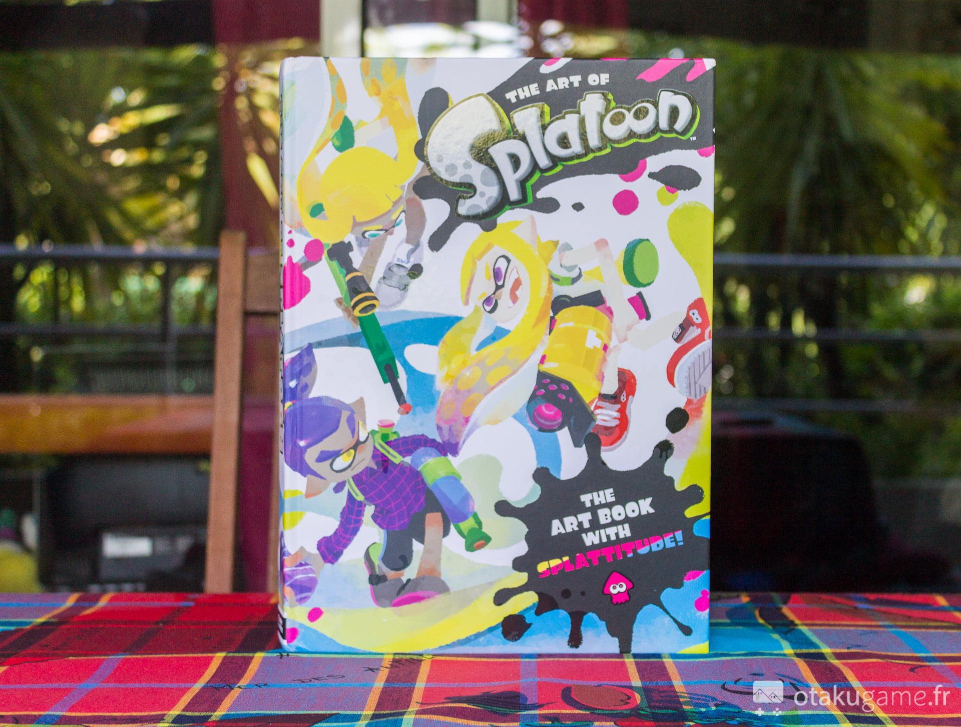 The Art of Splatoon. L'artbook qui fait baver tous les fans de Splatoon !
