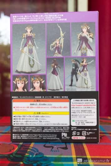 Boîte de la figurine Figma Zelda