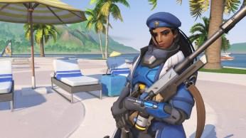 Ana - Fond d'écran Overwatch jeux d'été 2017 (3)