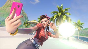 D.Va Summer Games Wallpaper