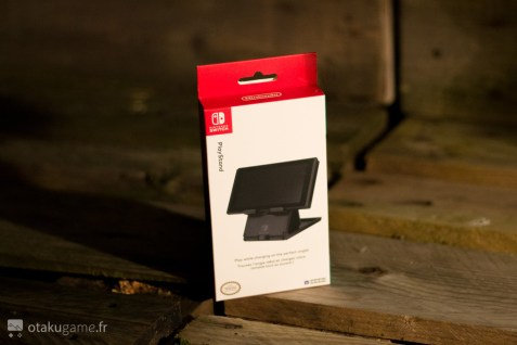Le Hori Playstand, le support idéal pour jouer en voyage à la Switch !