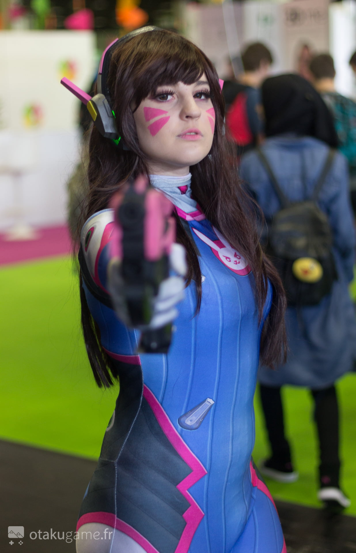 Cosplay D.Va & Mercy Gamescom 2017