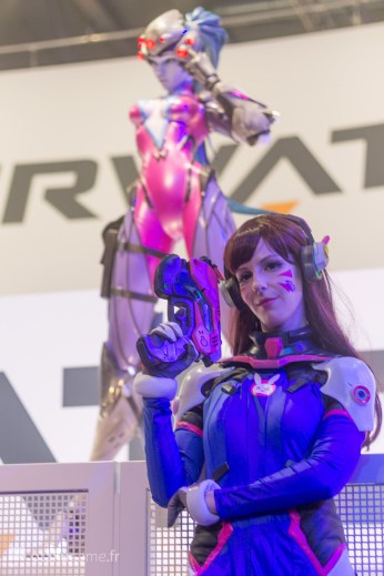 Cosplay D.va Gamescom 2017