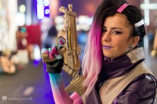 Cosplay Sombra Gamescom 2017